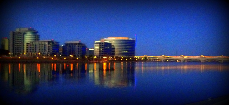 Another gorgeous sunrise at Tempe Town Lake