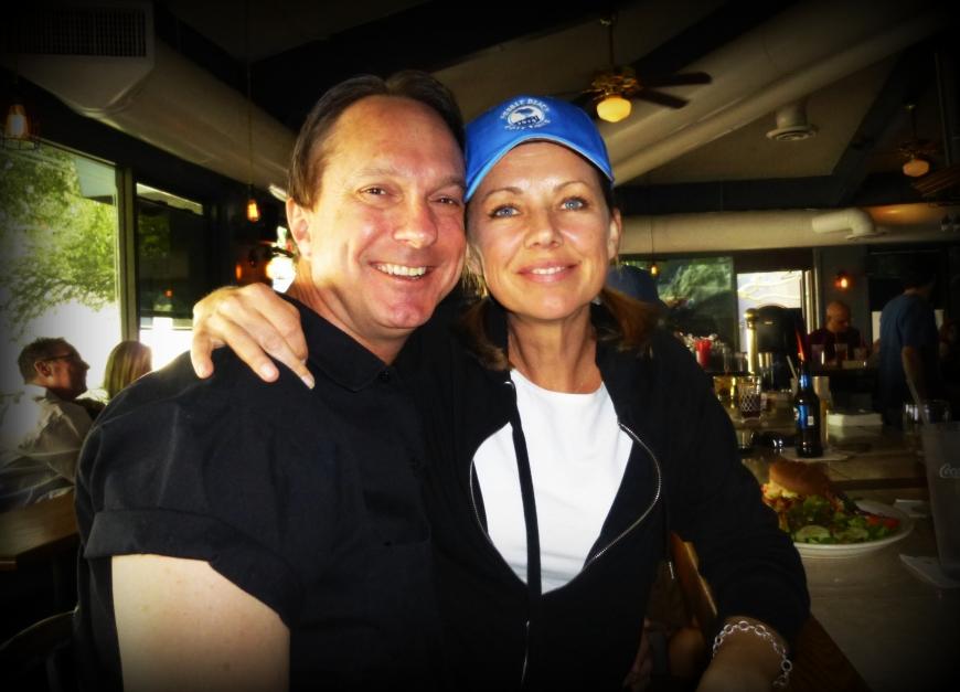 Christine and Hooper - so photogenic...!!!
