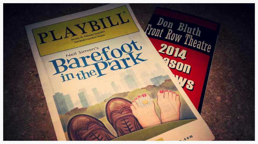 2/15/14 - Barefoot in the Park