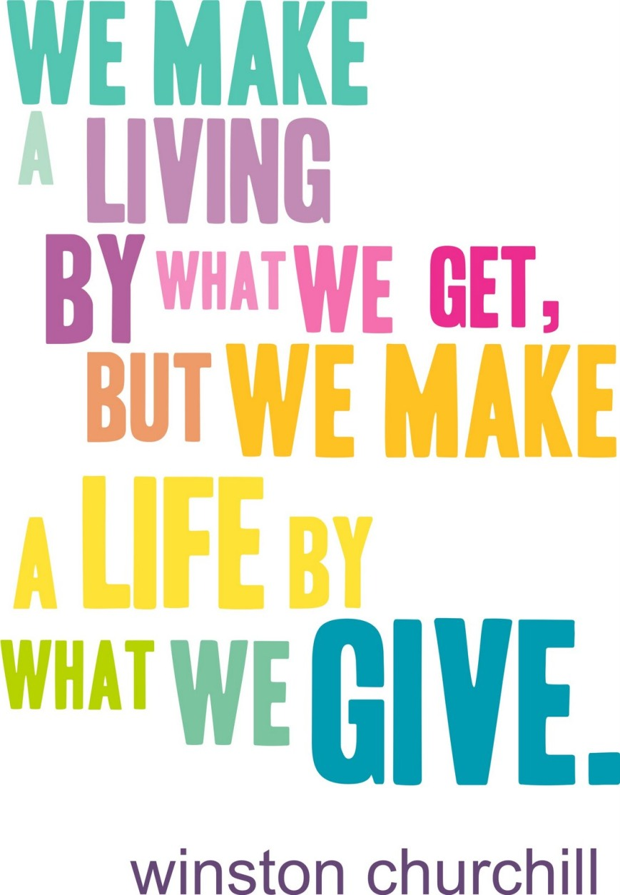 Giving-quote